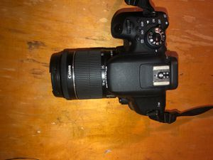 Canon EOS Rebel T6i with two lenses and charger for Sale in Washington, DC