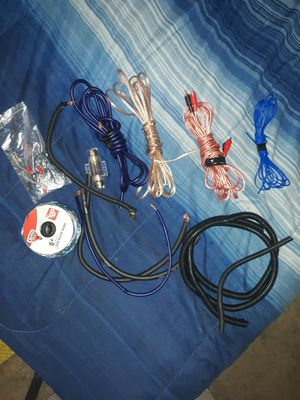 CAR AUDIO WIRING for Sale in Surprise, AZ