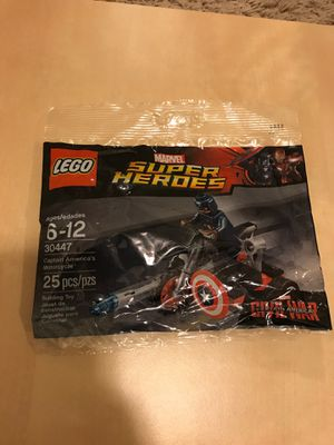 LEGO 30447 Superheroes Captain America's motorcycle polybag for Sale in Stafford, TX