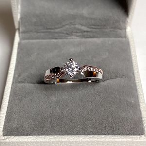NEW! 1/2 CT White Topaz, Sterling Silver Rose Gold S925 Promise Ring, Please See Details for Sale in Redlands, CA
