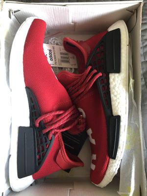 Scarlet Adidas NMD Human Races size 10 for Sale in Bellevue, WA