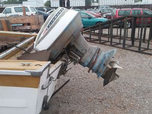 1960's Evinrude Starflite 90s outboard boat for Sale in Highland, CA