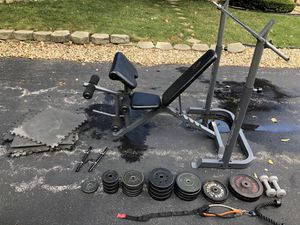 Home Gym Setup for Sale in Oak Forest, IL