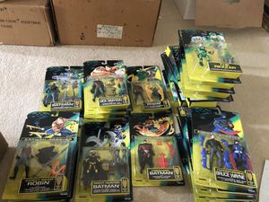 Kenner Batman forever action figures and villains for Sale in Stockton, CA