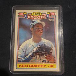 Ken Griffey Jr 1989 Topps Rookie Card for Sale in Olivehurst,  CA