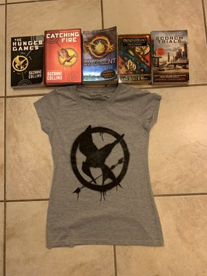 Great books and Hunger Games shirt for Sale in Davenport, FL