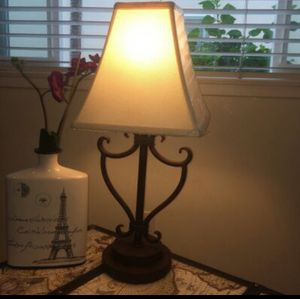 Wrought Iron Lamp for Sale in San Diego, CA