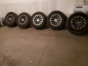 5 tires 5 rims 6 lug for Sale in Ankeny, IA