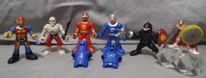 fisher-price imaginext knights & pirates figurines for Sale in Oklahoma City, OK