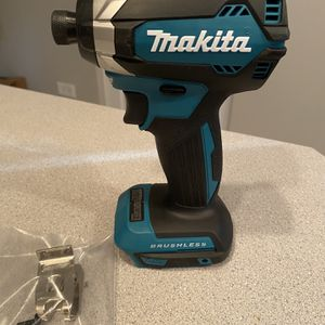 Makita Brushless Impact Driver Brand New 18v (tool Only) for Sale in Lombard, IL
