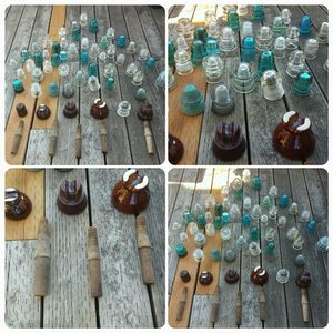 VINTAGE INSULATORS COLECTION for Sale in Tacoma, WA
