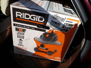 Ridgid shop vac new never been out the box $$45 for Sale in Galena Park, TX