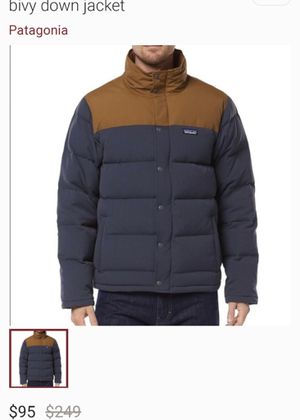 Patagonia Bivy Down jacket for Sale in Tacoma, WA