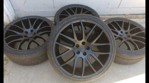 22 inch rims for Sale in Fontana, CA
