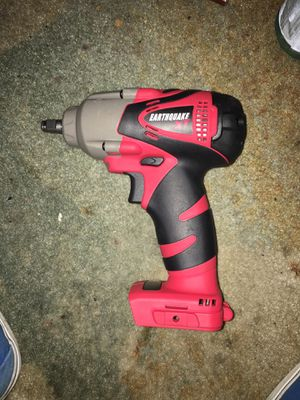 Earthquake XT 20v Lithium 3/8inch impact wrench for Sale in Los Angeles, CA