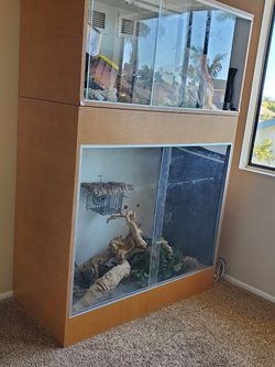 Reptile Terrarium Two Stories for Sale in Huntington Beach,  CA