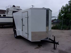 2019 6x12 ENCLOSED UTILITY TRAILER DEEP SOUTH *BRAND NEW* for Sale in Lewisville, TX