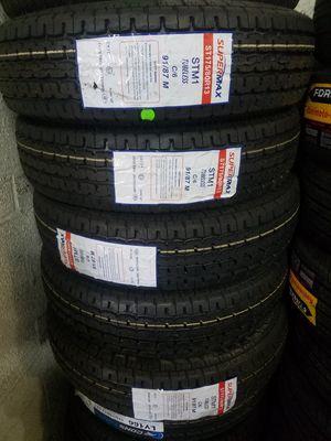St175 80 13 brand new trailer tires $45 each for Sale in Phoenix, AZ