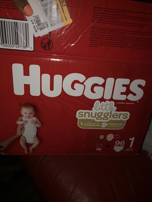 Diapers Huggies size 1 for Sale in Riverside, CA