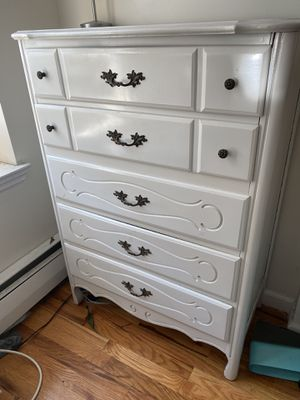 Restored Vintage White Dresser for Sale in Brooklyn, NY