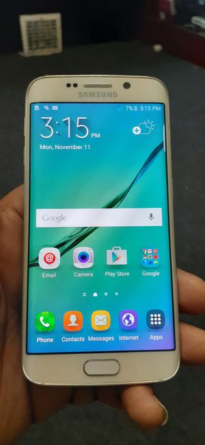 Samsung Galaxy s6 edge unlocked!!!! for Sale in Cleveland, OH