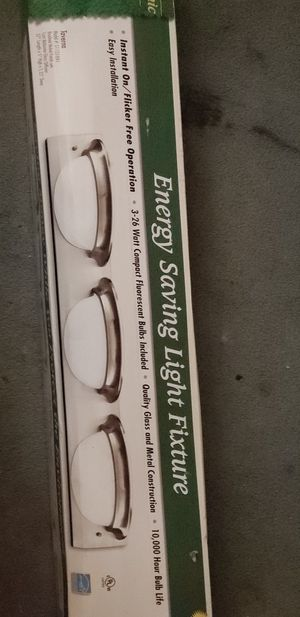 Wall light fixture bulbs included. New in box for Sale in St. Louis, MO