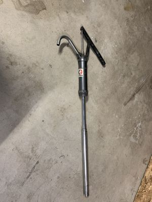 55 Gallon Hand Pump with Spout - Used for Sale in Fontana, CA