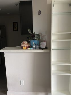 White Long Wall Shelf for Sale in Beverly Hills,  CA
