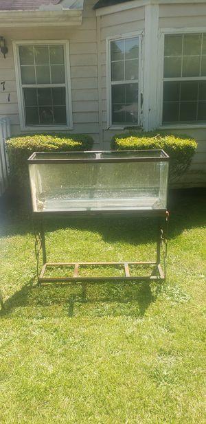 Fish Aquarium & Stand 55 Gallon for Sale in Norcross, GA