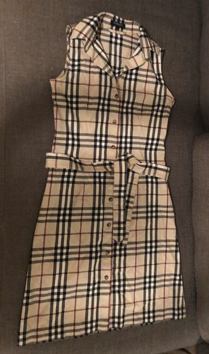 Authentic Classic Burberry London Dress - No Sleeve - Women's Size:2 or XS for Sale in Miami, FL