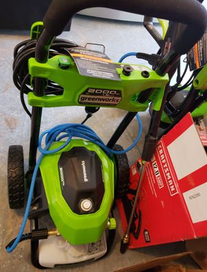 GREENWORKS ELECTRIC PRESSURE WASHER.......2,000 PSI......BRAND NEW........ for Sale in BVL, FL
