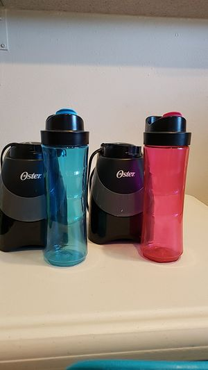 Oster blender bottles for Sale in Rancho Santa Margarita, CA