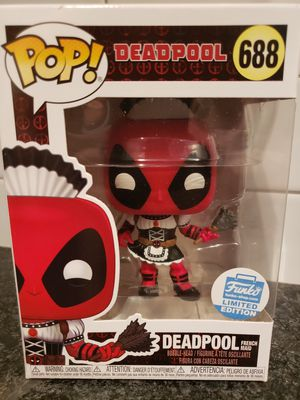 DEADPOOL FRENCH MAID FUNKO EXCLUSIVE for Sale in Phoenix, AZ