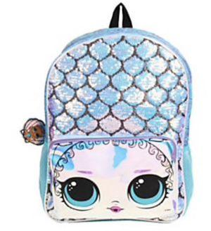 LOL Surprise !!Mermaid Backpack , Blue for Sale in Spring Valley, CA