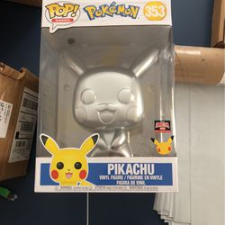 Silver Pikachu Funkopop 10'' for Sale in Boyds,  MD