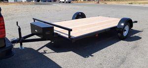 New 7x13 ATV UTV flatbed trailer for Sale in Roy, WA