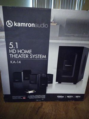 J.d home theater system, 150 - C.D recorder with Yamaha reciver$ 180- hp desktop computer with color printer 350. For everything give me $600 for Sale in Fresno, CA
