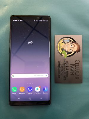 Samsung Galaxy Note 8 64GB Unlocked for Sale in Port St. Lucie, FL