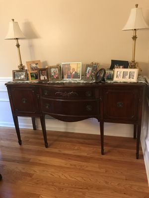 Antique mahogany buffet for Sale in Seymour, CT