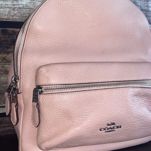Coach pink backpack for Sale in Houston, TX