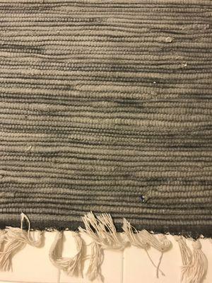 Reversible vintage 3x5 area rug blue for Sale in Arlington, VA