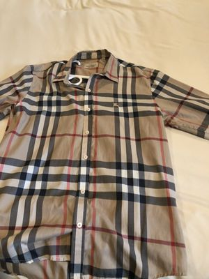 AUTHENTIC BURBERRY men's shirt for Sale in Escondido, CA