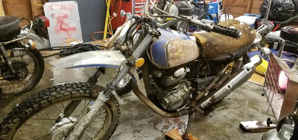 Yamaha Hondas 250cc and 350cc