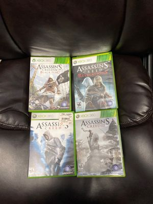 xbox 360 games lot shipping only for Sale in Boca Raton, FL