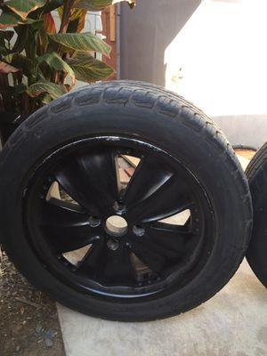 Black painted aluminum rim for Sale in Lake Elsinore, CA