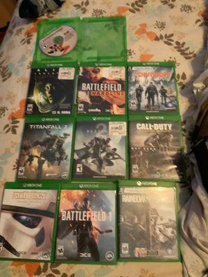 Xbox one X w/ 10 games, COD Astro A10, and 2TB seagate hard drive for Sale in Pomona, CA