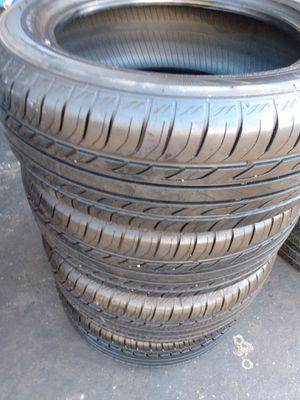 SET TIRES 205/55R16 $180 CASH ESPECIAL PRICE for Sale in Santa Fe Springs, CA