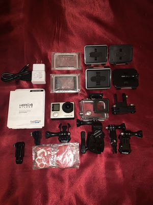 GoPro Hero Silver 4 ,EXTRAS for Sale in Gilroy, CA