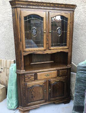 Solid wood Corner Cabinet for Sale in Las Vegas, NV