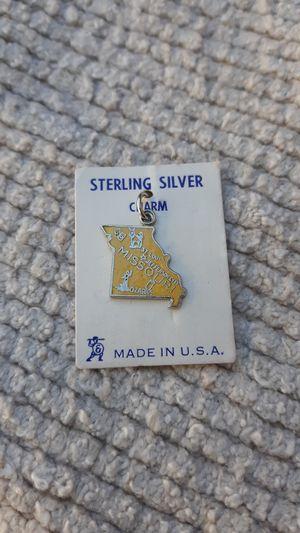 Missouri Vintage Sterling Silver Charm for Sale in Chandler, AZ